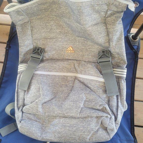 NWOT Adidas Women's Training Grey Yola Backpack
